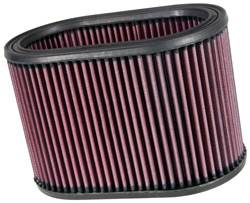 "K&N Filters - K&N Performance Air Filter - Oval - 8-7/8 x 5-1/4"" x 6"" - Universal"