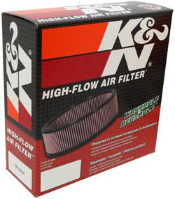 "K&N Filters - K&N Performance Air Filter - 9"" x 3"" - Universal"