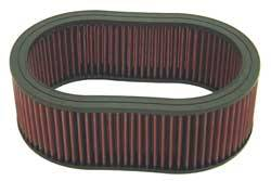 "K&N Filters - K&N Performance Air Filter - Oval - 11-1/2 x 8-1/8"" x 4"" - Universal"