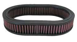 "K&N Filters - K&N Performance Air Filter - Oval - 11-1/2 x 8-1/8"" x 2"" - Universal"