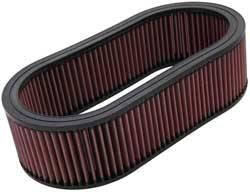 "K&N Filters - K&N Performance Air Filter - Oval - 14-5/8 x 7-3/4"" x 4"" - Universal"