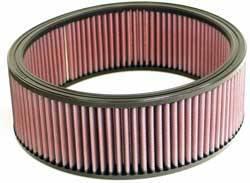 """K&N Filters - K&N Performance Air Filter - 9-5/8"""" x 3-1/4"""" - Universal"""