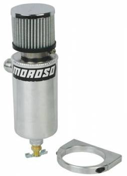 Moroso Performance Products - Moroso Breather Tank Vac-Pump - Black