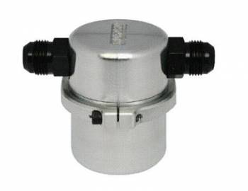 Moroso Performance Products - Moroso Air/Oil Separator for Vacuum Pump