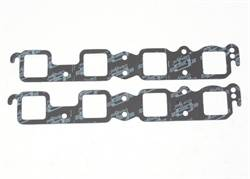 Mr. Gasket - Mr. Gasket Ultra Seal Exhaust Gasket Set - Port Dimensions: Width: 1.85 in. x Height: 1.89 in.