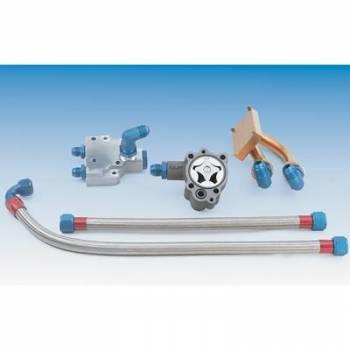 Milodon - Milodon Hemi 2 Line Swivel Water Pump