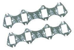 Mr. Gasket - Mr. Gasket Ultra Seal Exhaust Gasket Set - Port Dimensions: Width: 1.56 in. x Height: 2.32 in.