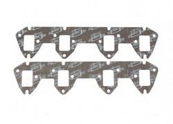 Mr. Gasket - Mr. Gasket Ultra Seal Exhaust Gasket Set - Port Dimensions: Width: 1.38 in. x Height: 2.05 in.