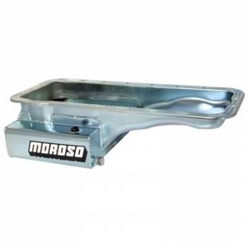 Moroso Performance Products - Moroso Ford FE Stainless Steel & R/R Oil Pan - 8 Qt. Front Sump