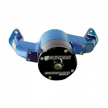 Meziere Enterprises - Meziere BB Chevy Billet Electric Water Pump - Blue