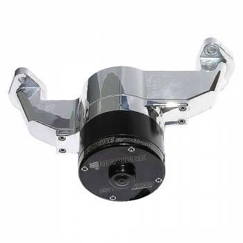 Meziere Enterprises - Meziere BB Chevy Billet Electric Water Pump - Polished