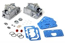 Holley Performance Products - Holley Fuel Bowl Sight Window Kit - Dual Inlet