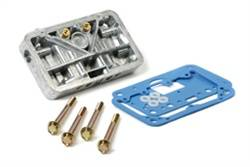 Holley Performance Products - Holley Metering Block - Shiny Finish