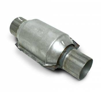 "SLP Performance - SLP Performance High-Flow Catalytic Converter 2.5"" Inlet/Outlet 400 Cell Per""-Each"