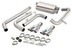 Corsa Performance - Corsa Sport Cat-Back Exhaust System - Dual Rear Exit