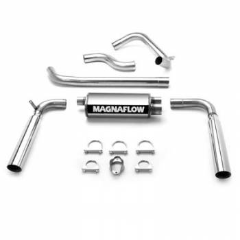 Magnaflow Performance Exhaust - Magnaflow Stainless Steel Cat-Back Performance Exhaust System - 5 x 8 x 18 in. Muffler