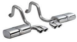 Corsa Performance - Corsa Pace Axle-Back Exhaust System - Dual Rear Exit