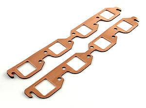SCE Gaskets - SCE Copper Exhaust Gaskets - 409 Chevy
