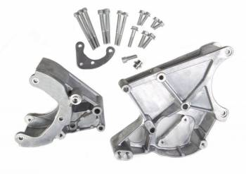 Holley Performance Products - Holley LS Accessory Drive Bracket-A/C, P/S & Alt Brackets-works with R4 compressor