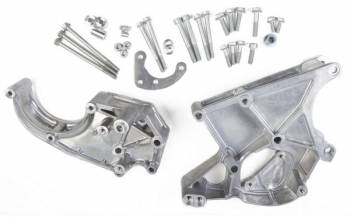 Holley Performance Products - Holley LS Accessory Drive Bracket-Passenger & Driver Side Brackets (Alt, P/S & A/C)-Fits Sanden SD508 or SD7 Comp.