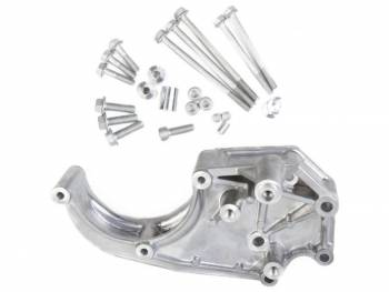 Holley Performance Products - Holley LS A/C Accessory Drive Bracket-Passengers Side A/C Bracket-Fits Sanden SD508 or SD7 Comp.