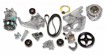 Holley Performance Products - Holley LS Complete Accessory Drive Kit - SD508 Compressor