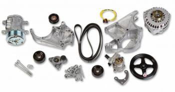 Holley Performance Products - Holley LS Complete Accessory Drive Kit - SD7 Compressor