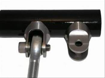 Meziere Enterprises - Meziere Contour Tube Clevis - 1-1/4 Perpendicular