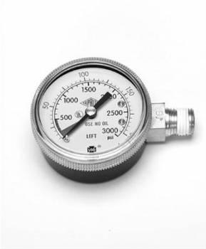 Dedenbear - Dedenbear High Pressure Gauge for CO2 Regulator