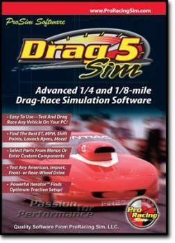 Comp Cams - COMP Cams Software - Drag Sim 5