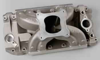 Dart Machinery - Dart BB Chevy Intake Manifold - 10.200 Rack & Pinion 4150 Flange