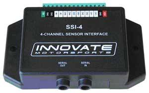Innovate Motorsports - Innovate Motorsports SSI-4 4 Channel Simple Sensor Interface