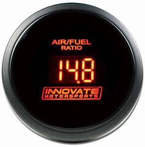 Innovate Motorsports - Innovate Motorsports DB-Gauge Red