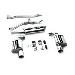 Magnaflow Performance Exhaust - Magnaflow Stainless Steel Cat-Back Performance Exhaust System - 2.5 in. Inlet/2.25 in. Outlet