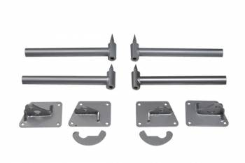 Chassis Engineering - Chassis Engineering Two Piece Light Weight 'Pro' Hinge Kit - Chrome Moly