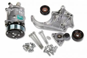 Holley Performance Products - Holley LS A/C Accessory Drive Kit - Passenger's Side A/C Bracket-SD508 Compressor