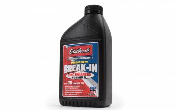 Edelbrock - Edelbrock High Performance Premium Break-in Oil - SAE 30