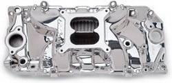 Edelbrock - Edelbrock Performer RPM 2-0 Intake Manifold - Endurashine