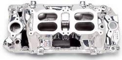 Edelbrock - Edelbrock RPM Air Gap Dual-Quad Intake Manifold - Endurashine