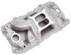 Edelbrock - Edelbrock RPM Air-Gap 2-0 Intake Manifold - Cast Finish