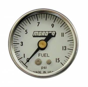 Moroso Performance Products - Moroso Fuel Pressure Gauge - 0-100 psi