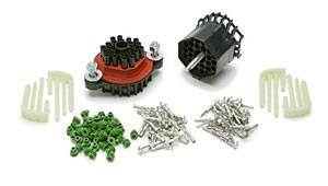 Painless Performance Products - Painless Performance Waterproof Bulkhead Connector Kit 22 Pin