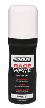 Moroso Performance Products - Moroso Race Write - Dial-in Indicator - White 3oz.