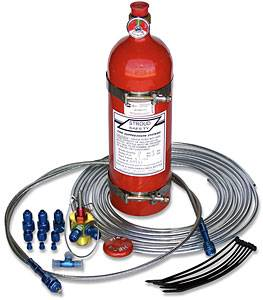 Stroud Safety - Stroud 5 Lb. FE- 36 Fire Suppression System - Push Style