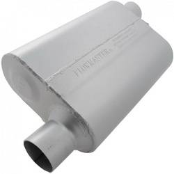 "Flowmaster - Flowmaster 40 Series Delta Flow Muffler - 2.5"" Offset - Inlet / 2.5"" Opposite Side Offset Outlet"
