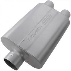 "Flowmaster - Flowmaster 40 Series Delta Flow Muffler - 3"" Center Inlet / 2.5"" Dual Outlet"