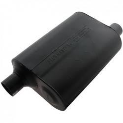 """Flowmaster - Flowmaster Super 40 Delta Flow Muffler - 2.25"""" Offset - Inlet / Opposite Side Offset Outlet"""