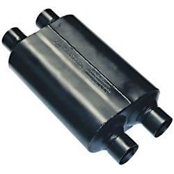 """Flowmaster - Flowmaster Super 40 Delta Flow Muffler - 2.5"""" Dual Inlet / Outlet"""