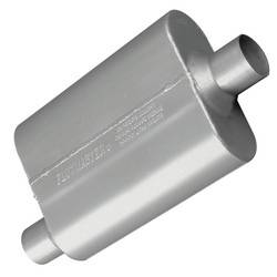 "Flowmaster - Flowmaster 40 Series Muffler - 2.25"" Offset - Inlet / Center Outlet"