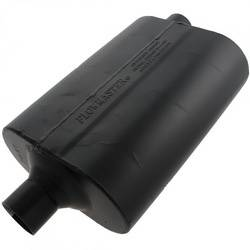 "Flowmaster - Flowmaster 60 Series Delta Flow Muffler - 2.25"" Center Inlet / Offset Outlet"